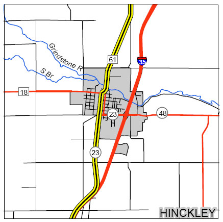 hinkley map