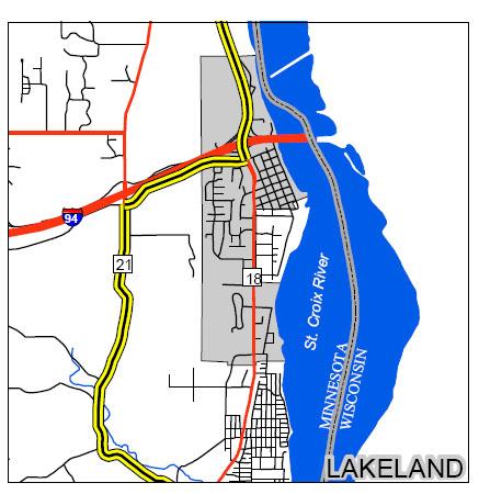 lakeland large map