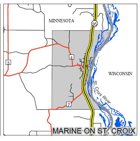 marine on st. croix large map