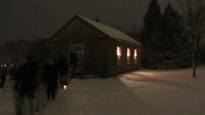 Lucia Celebration in Swedish