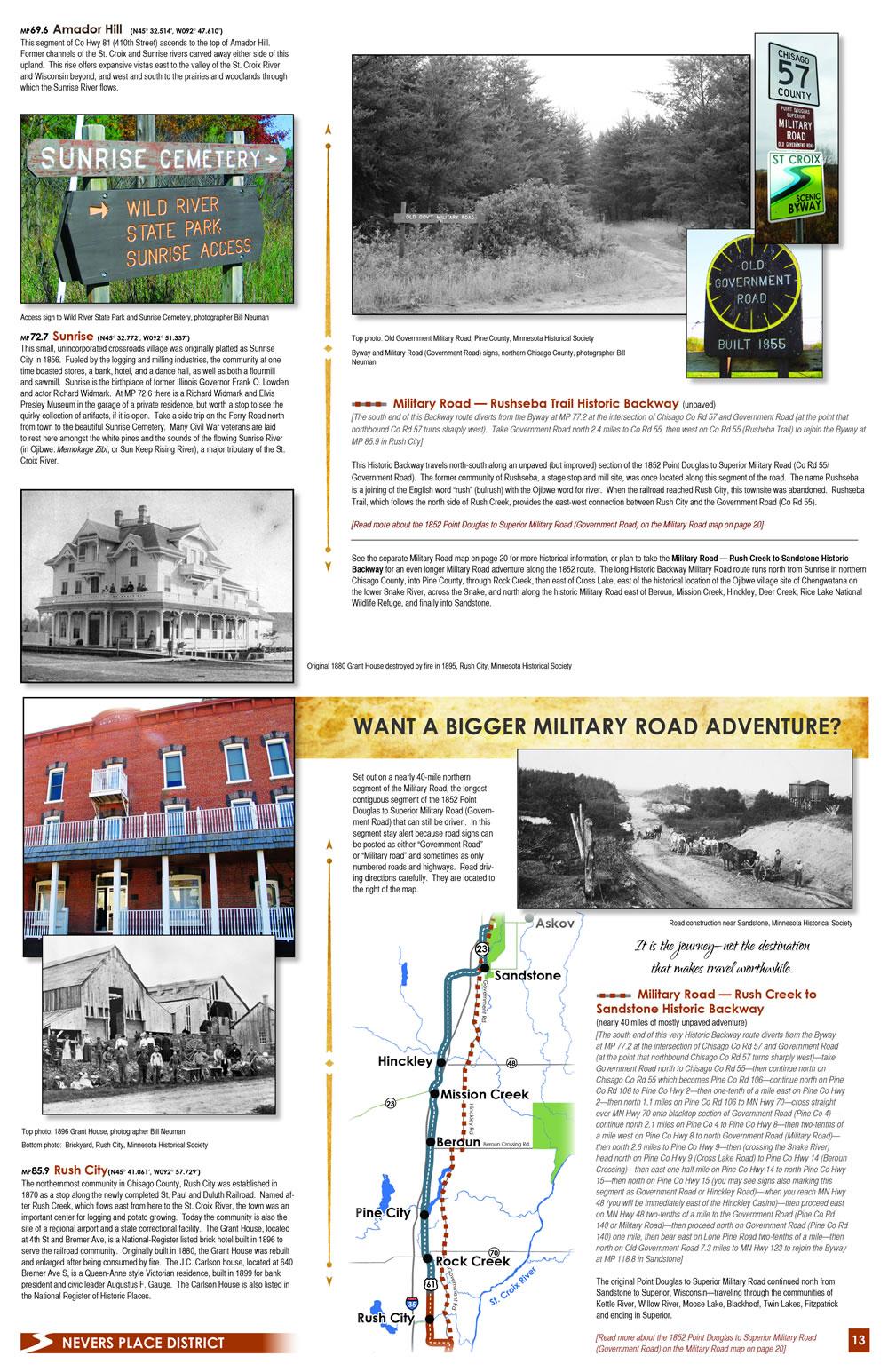 Historic 1852 Military Road Adventure