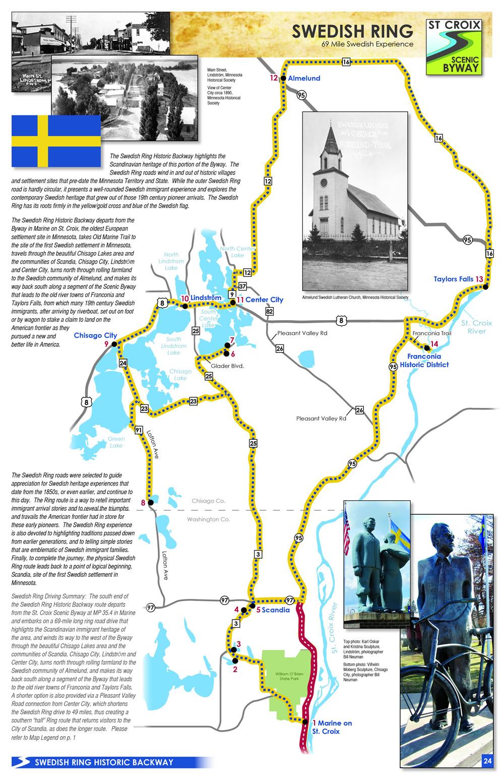 Swedish Ring Heritage Map