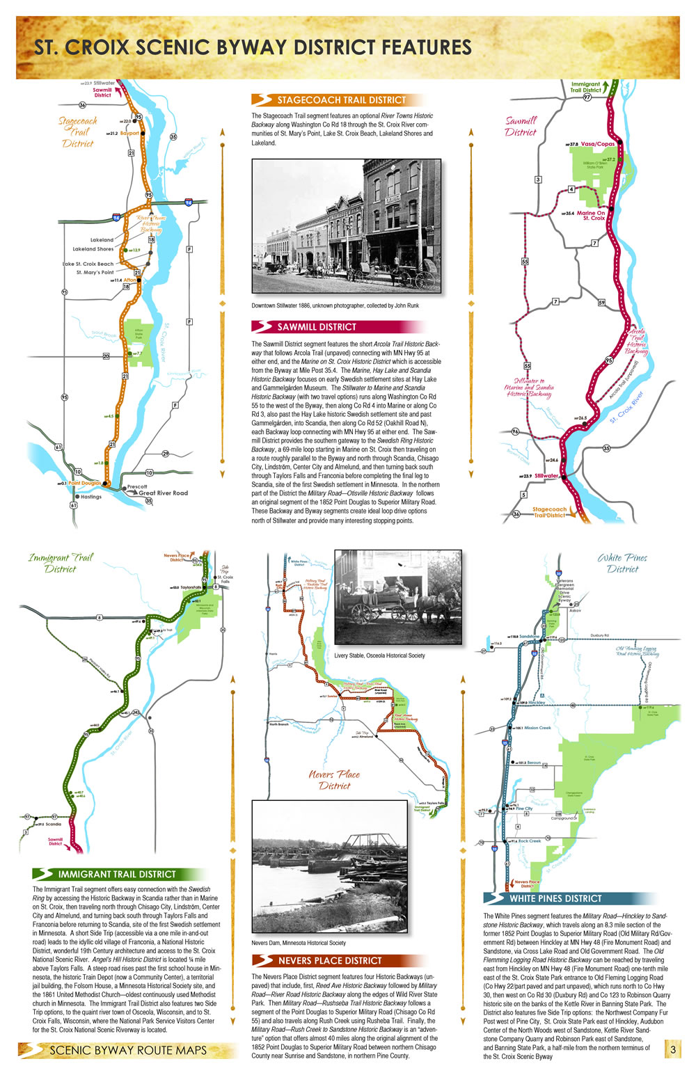 St. Croix Byway District Features
