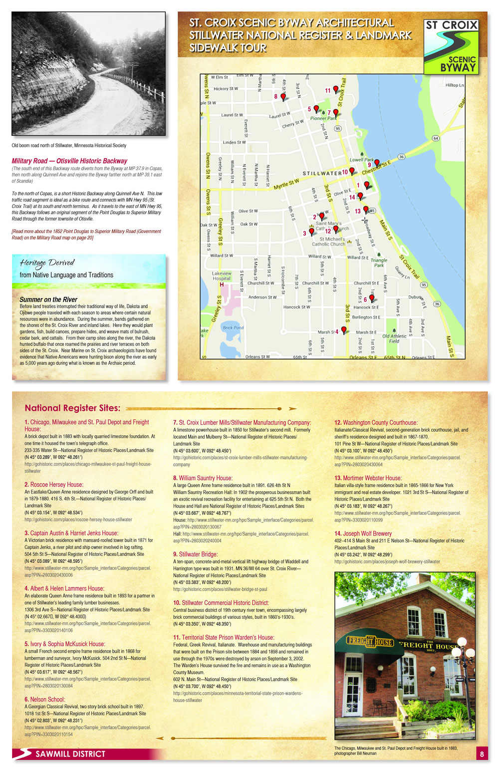 Stillwater National Register Walking Tour